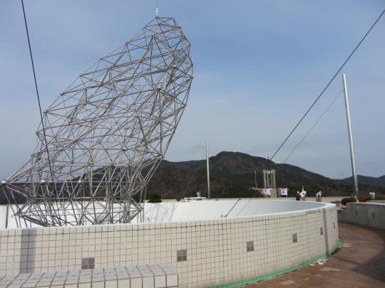 釜山民主抗爭紀念館天台展望台