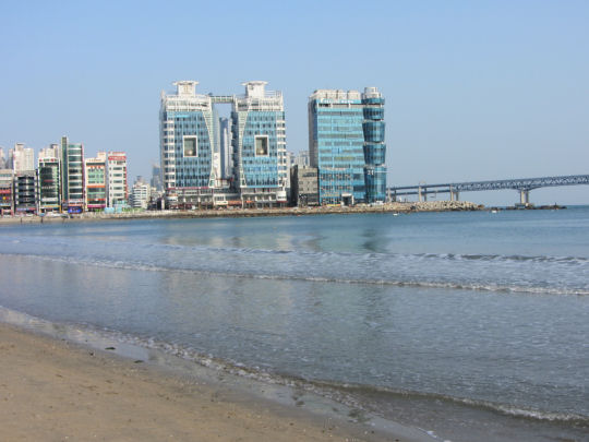 釜山廣安里海水浴場