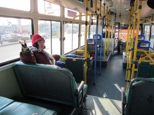 往新羅千禧公園的16號巴士