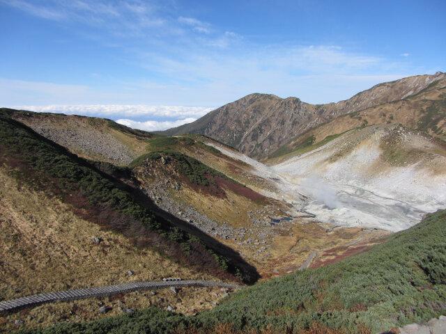 立山室堂 地獄谷周辺コース 地獄谷段