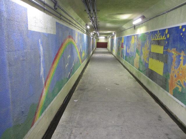 黑部市生地海底地下道壁畫
