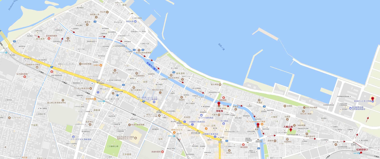 伏木駅步行往新湊きっときと市場