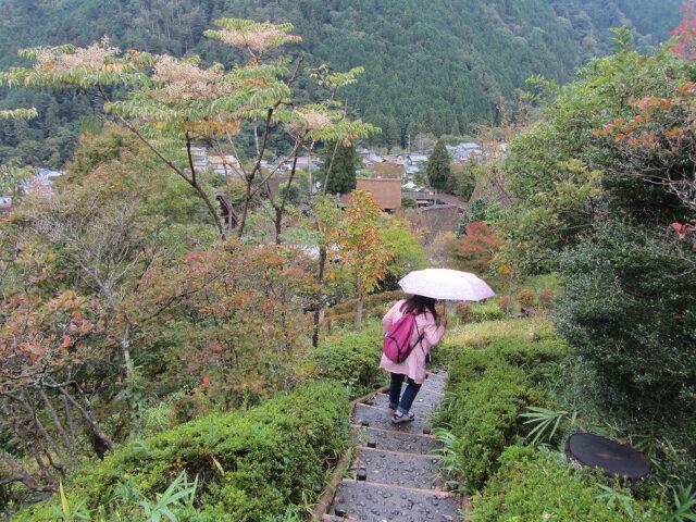 下呂溫泉合掌村秋天景色