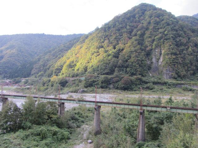 立山町.常願寺川 電鉄富山架空鐵道橋