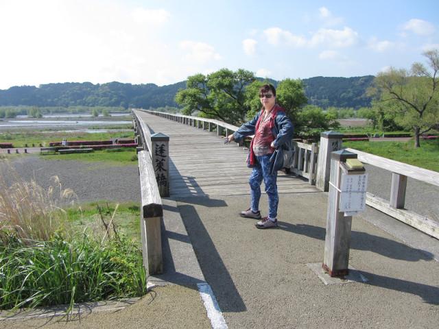 大井川蓬萊橋