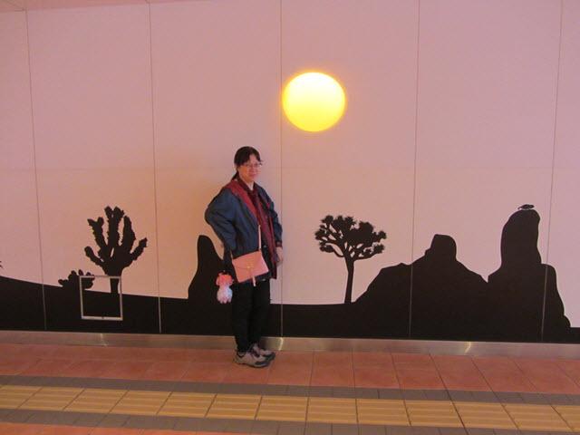名古屋 Lucent 藝術畫廊地下通道