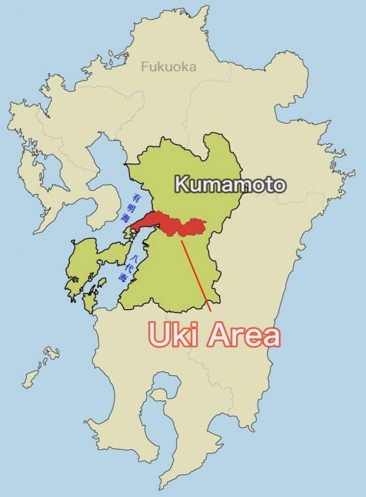 熊本縣 宇城地區 地圖