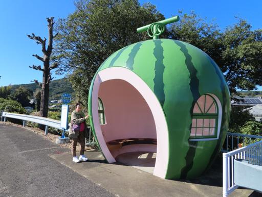 阿彌陀崎水果巴士站