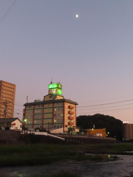 諫早市 本明川