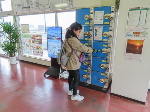 雲仙市 島鉄巴士小濱中心 (島鉄バス小浜ターミナル)  置物櫃