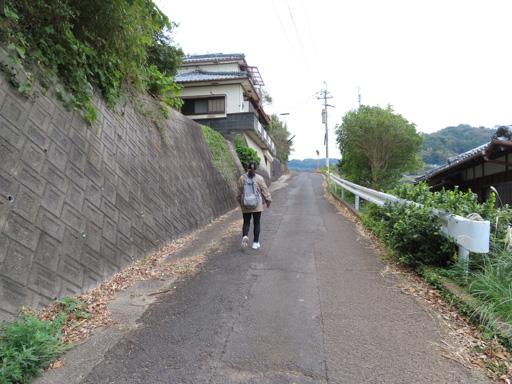 登上南串山棚畑展望台