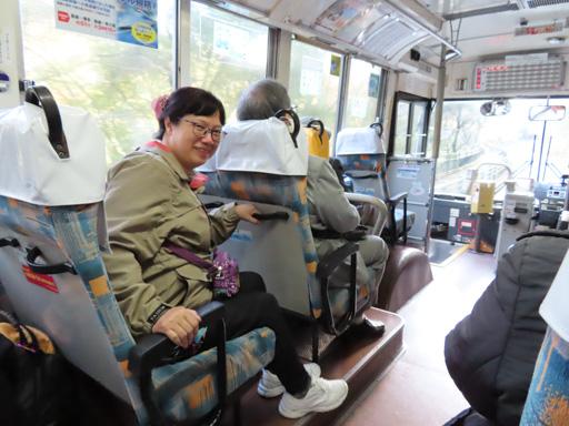 雲仙温泉 別所口 乘島原鉄道巴士往島原市