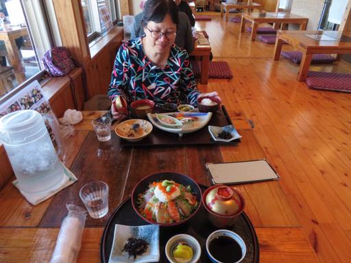 島原港 平野鮮魚店 刺身午餐