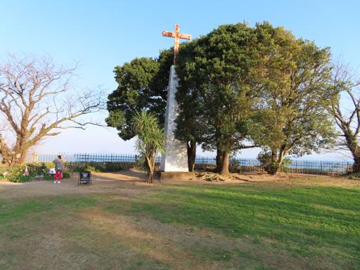 原城跡 本丸 十字架