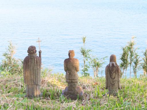 原城跡 本丸 三體石像