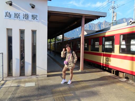 島原鉄道‧島原港駅
