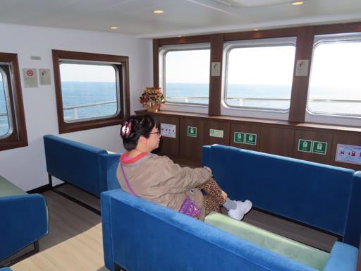 島原外港乘九商渡輪到熊本港