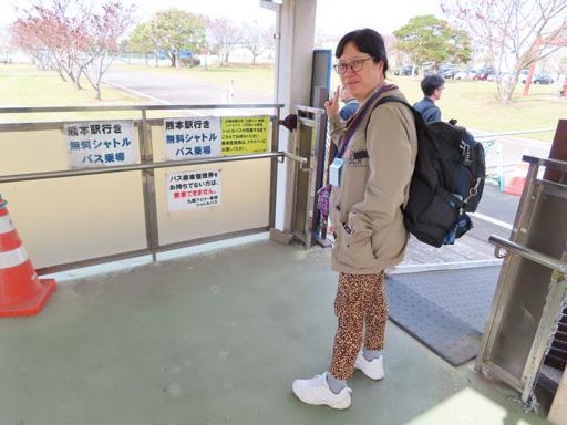 九商渡輪免費接駁巴士 往 熊本駅