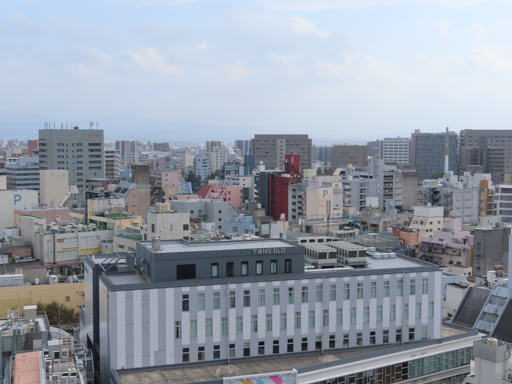 熊本市役所 14F展望台