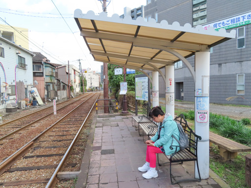 熊本路面電車‧新町駅