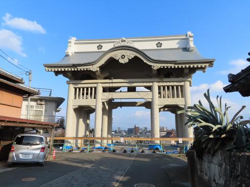 熊本市 本妙寺 仁王門