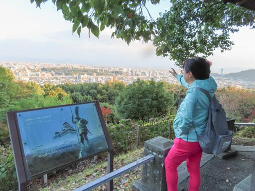 熊本市‧本妙寺展望台眺望