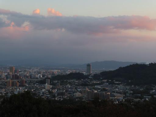 本妙寺展望台‧熊本市黃昏景色