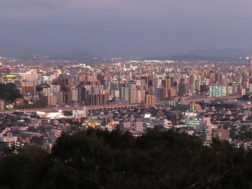 本妙寺展望台‧熊本市夜色