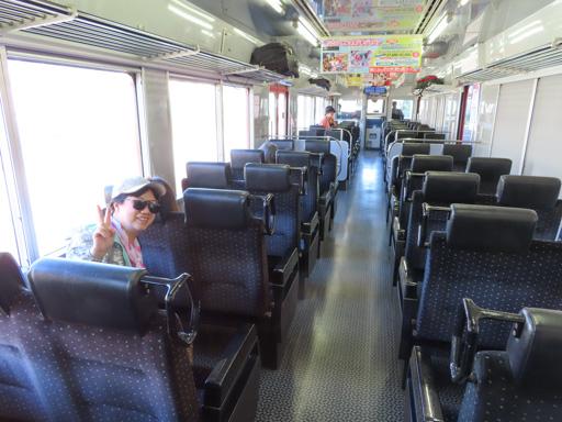 三角駅 乘火車往 赤瀨