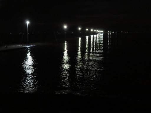 長部田海床路夜色