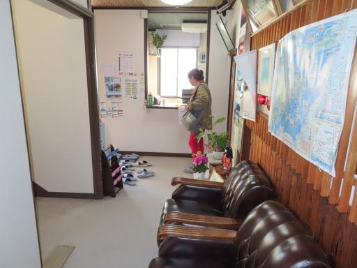 三角港 ビジネスホテルみすみ (商務飯店三隅) 一樓服務台