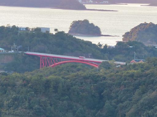 高舞登山展望所 天草五橋 5號橋 松島橋