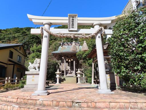 天草下島‧下田溫泉街 下田溫泉神社