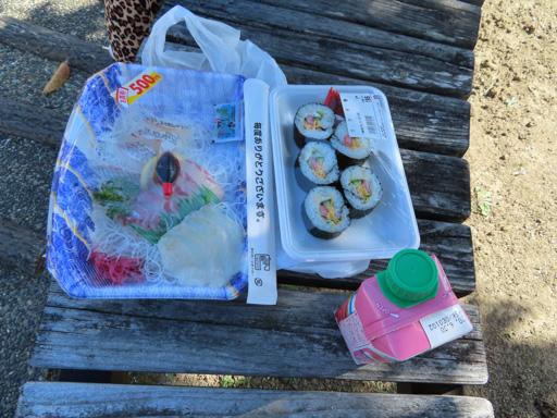 天草‧下田溫泉 超級市場買的剌身、壽司