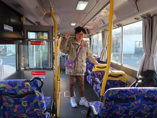 天草市本渡乘巴士到苓北町‧富岡港