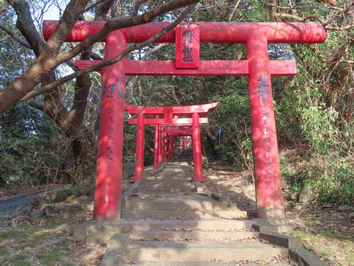 苓北町‧富岡城跡 稻荷神社