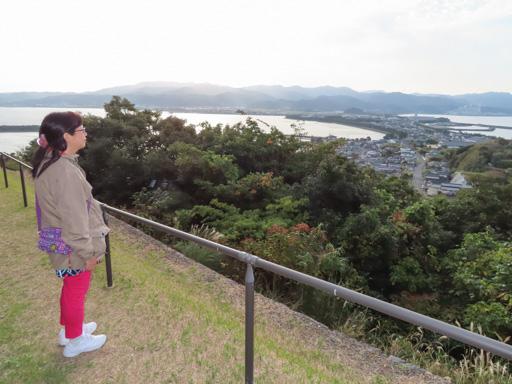 天草諸島‧苓北町 富岡城跡 眺望富岡半島