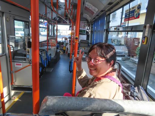 茂木港乘巴士到長崎市