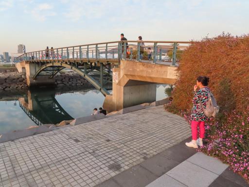長崎水濱森林公園‧風待橋 (かぜまちばし)
