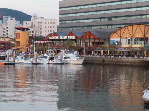 長崎出島碼頭