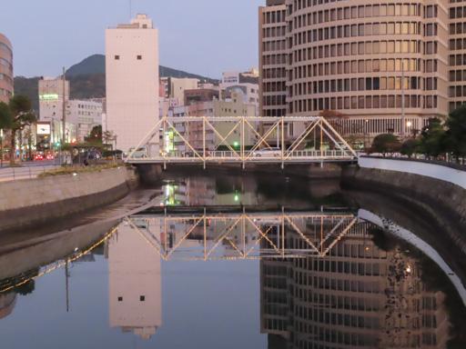 長崎中島川‧出嶋橋