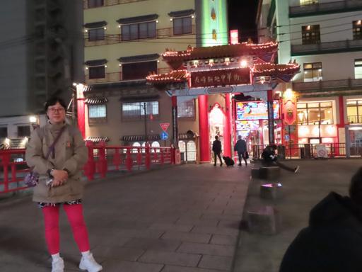 長崎新地中華街 夜色