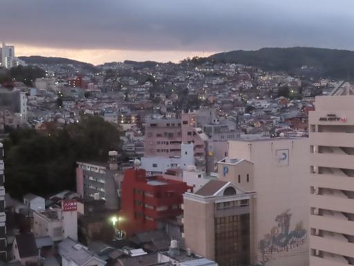 長崎市清晨景色