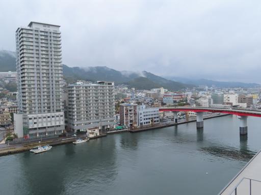 長崎縣廳8F免費展望台眺望長崎港