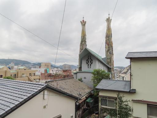 長崎市‧西坂町石级、聖フィリッポ西坂教会