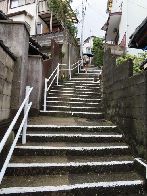 長崎市‧西坂町石级