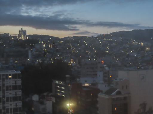 長崎市清晨