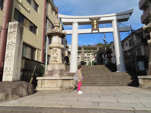 長崎諏訪神社鳥居入口