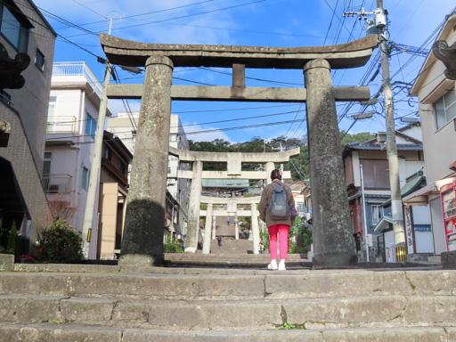 長崎諏訪神社第二個鳥居