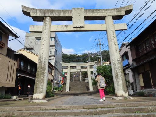 長崎諏訪神社第三個鳥居